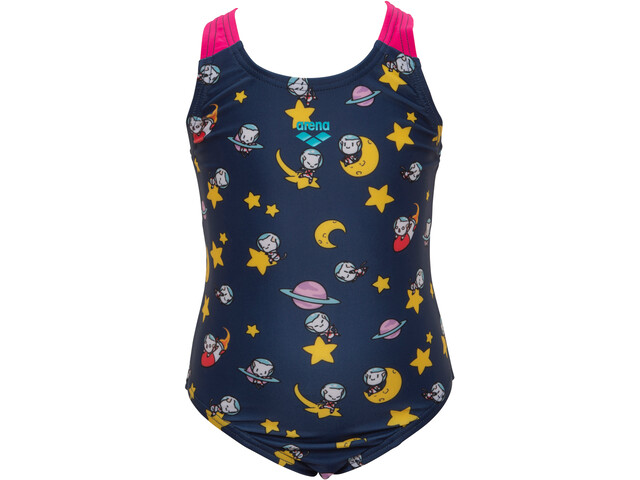 arena Space Cats Swimsuit Girls navy/freak rose